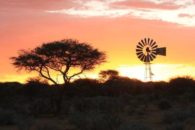 Namibia Sonnenuntergangsstimmung ©HorstReitz