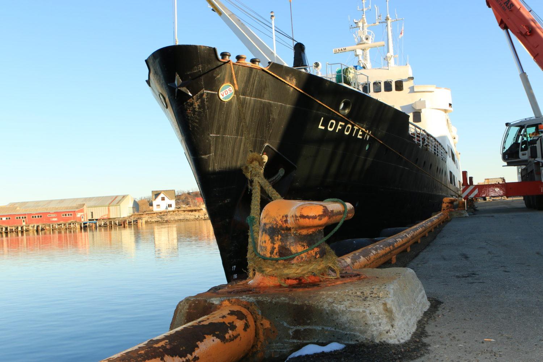 MS Lofoten in Svolvær / Lofoten