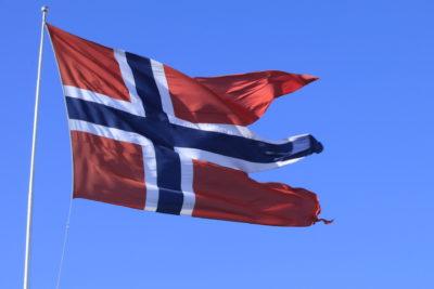 Norwegen Flagge ©Horst Reitz
