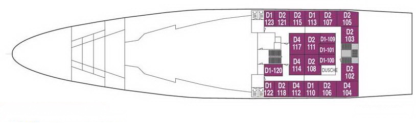MS Lofoten Deck A