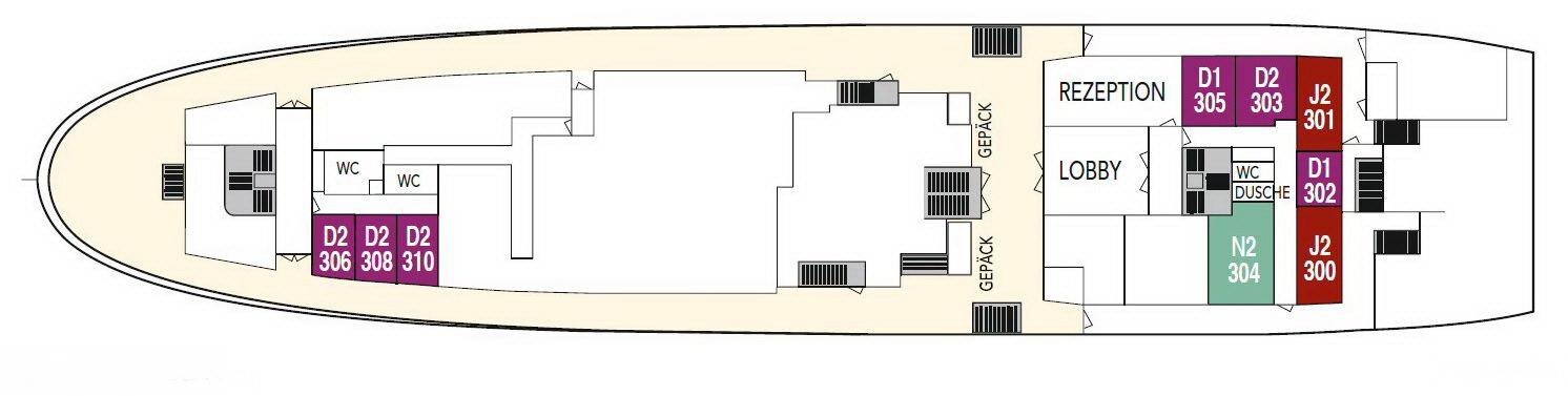 MS-Lofoten Deck C