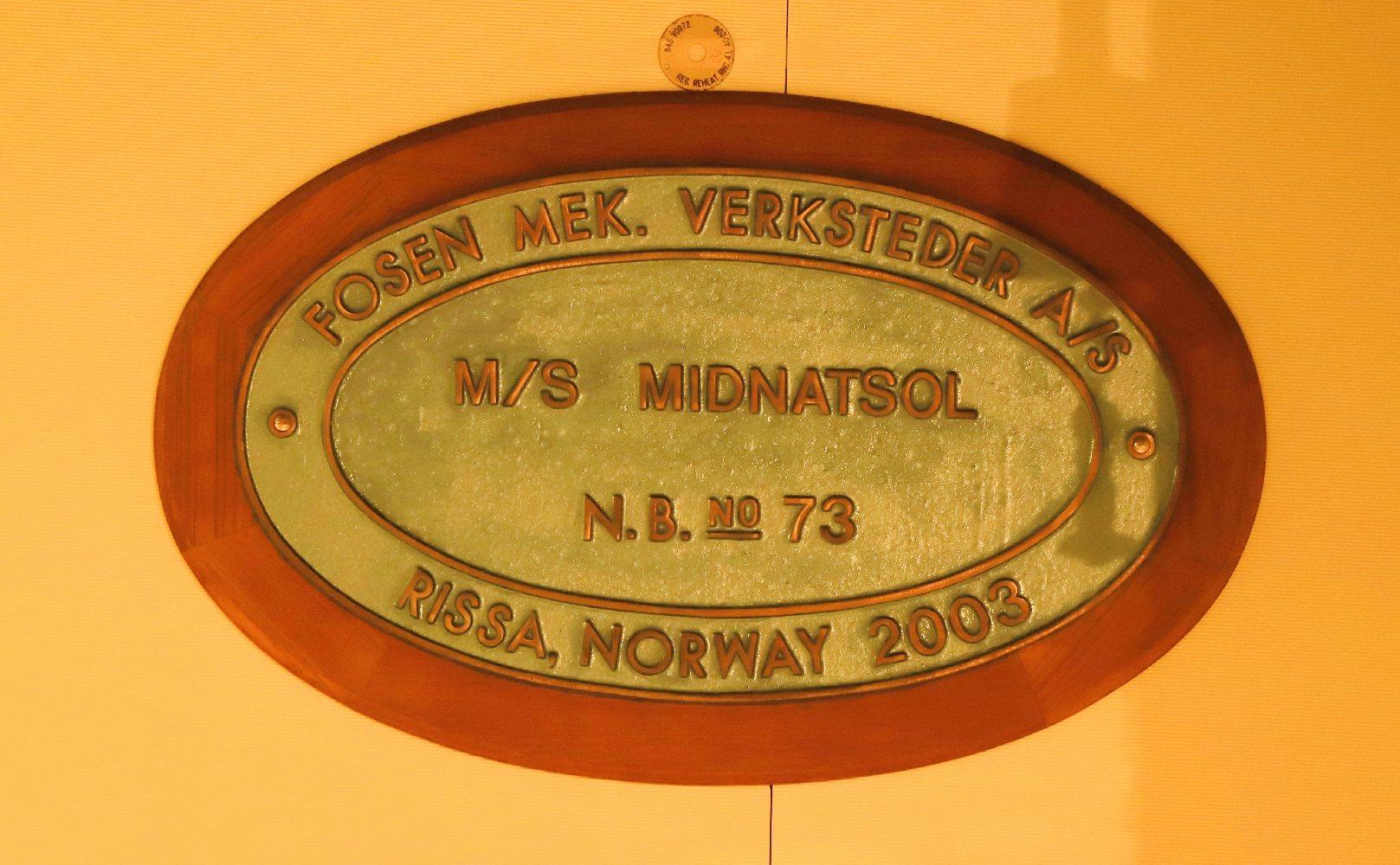 MS Midnatsol ©Horst Reitz