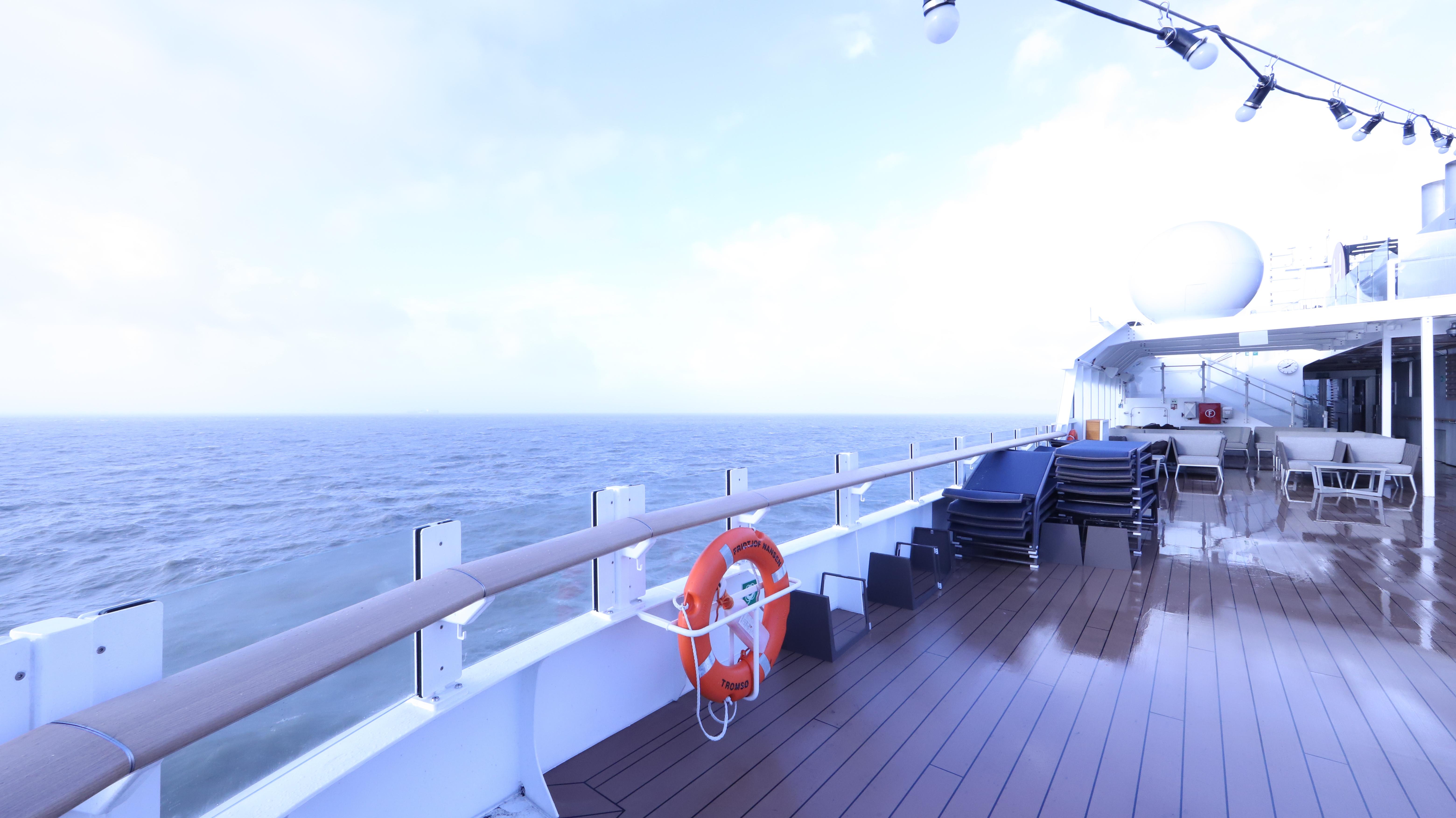 MS Fridtjof Nansen; On Deck