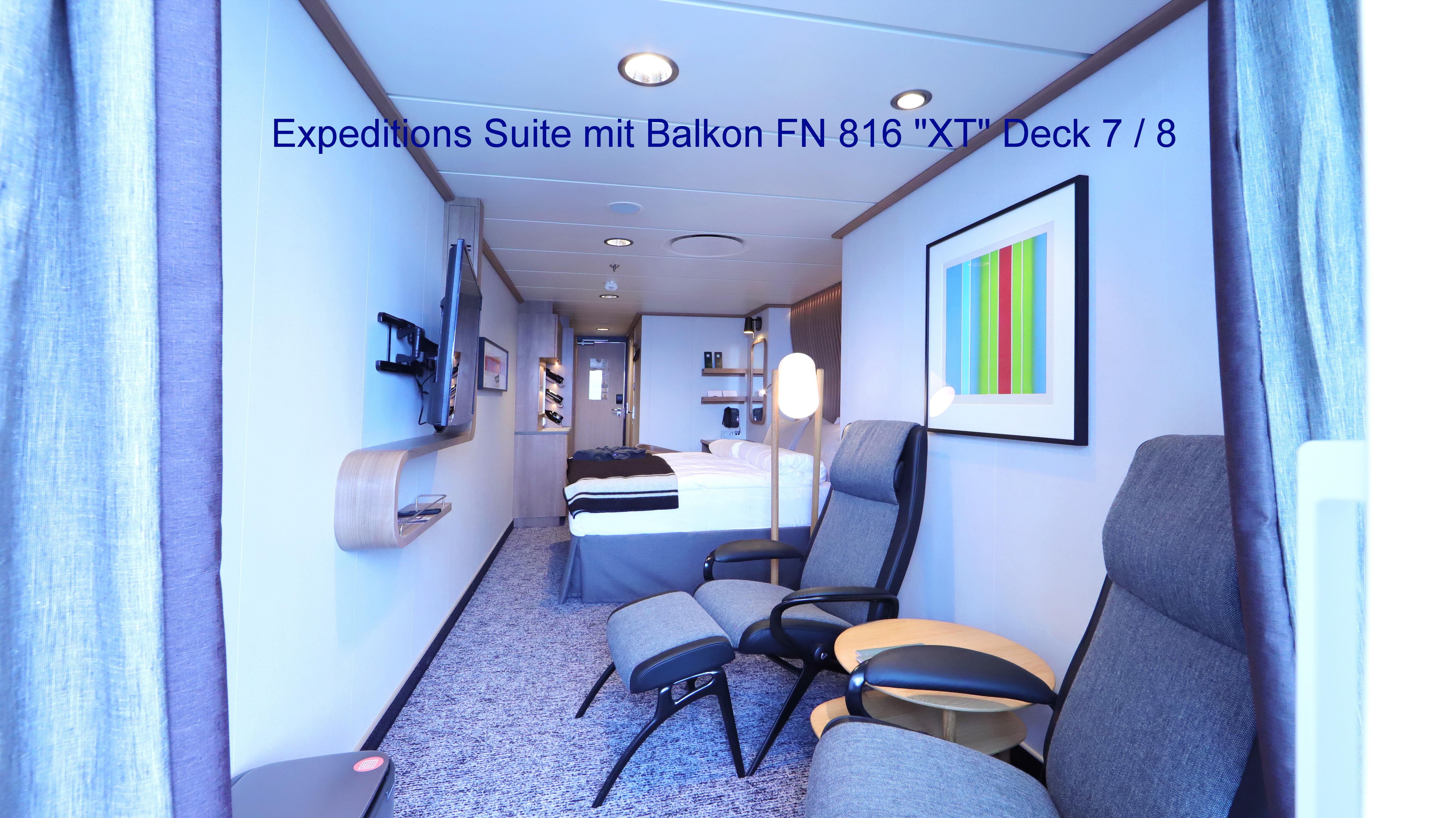MS Fridtjof Nansen; Suite 816